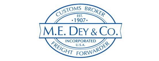 M. E. DEY & CO., INC.